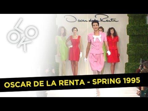 Oscar De La Renta Spring 1995: Fashion Flashback