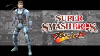 Super Smash Bros Brawl -Love Theme- Metal Gear Solid IV-SSBB Version - (HD)