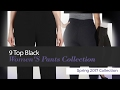 9 Top Black Women'S Pants Collection Spring 2017 Collection