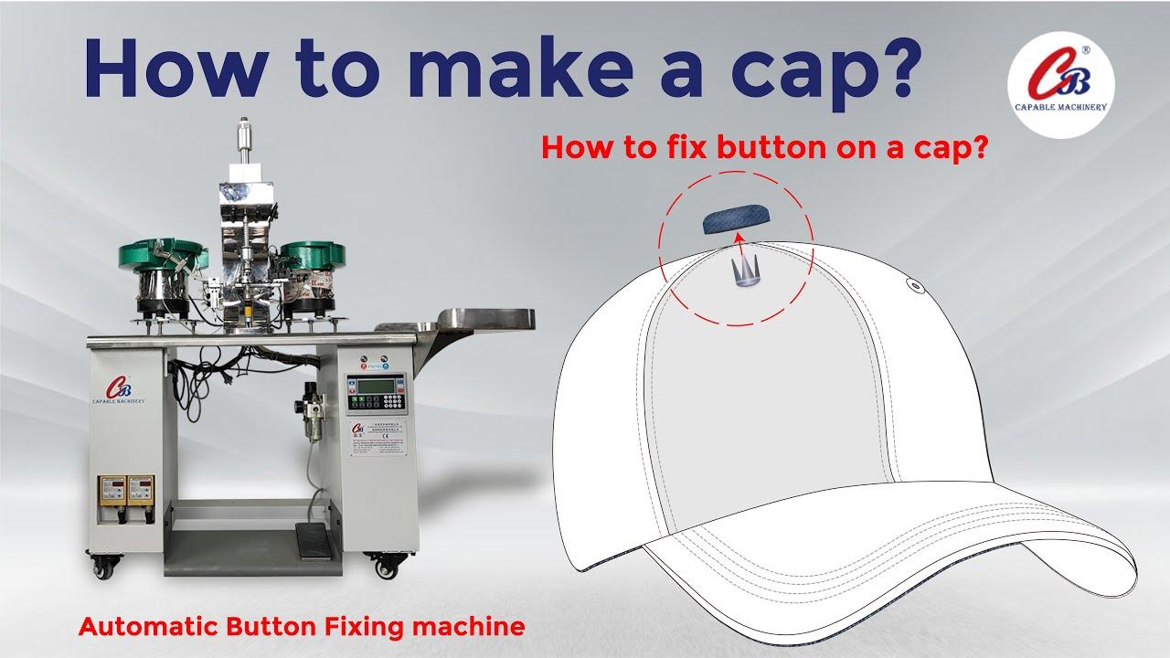 Automatic cap button fixing machine  CB-302F