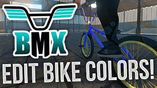 BMX the Game: Editing Bike Colors! (PC)
