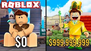 FROM POBRE TO MILLIONARY ? Cerso tycoon roblox in Spanish
