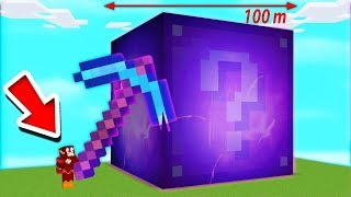 FORTNITE GIANT CUBE NEW LUCKY BLOCKS IN MINECRAFT MODS 😂😍