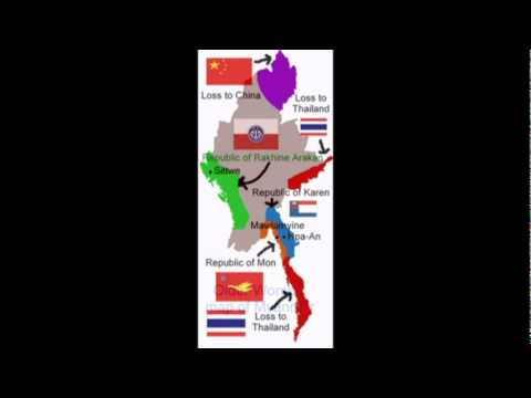 New Map of Myanmar in the future!!!