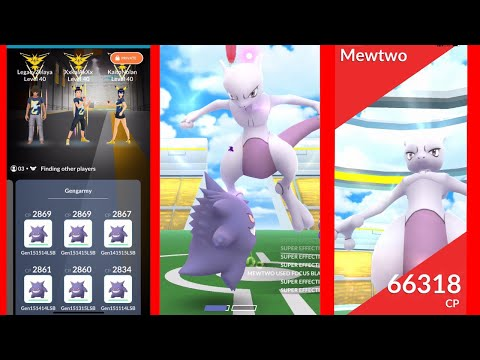 T6 Mewtwo trio with Gengarmy (no weather boost)