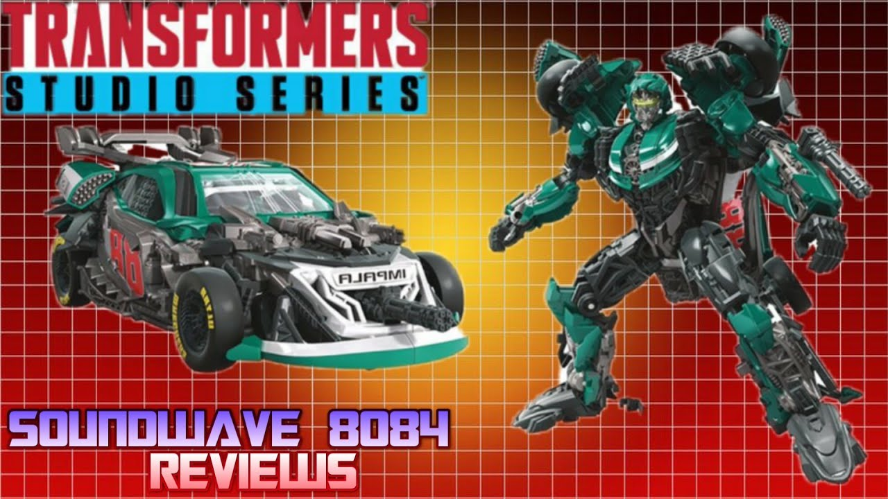 Transformers Studio Series 58 Roadbuster Review by Soundwave 8084