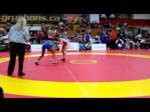 2015 Canada Cup: 53 kg Madison Parks (CAN) vs. Yamilka Alvarez del Valle (CUB)