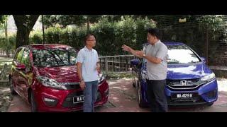 Proton Iriz vs Honda Jazz Pt. 1 - Roda Pusing Review