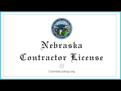 Nebraska Contractor License  - What You need to get started #license #Nebraska