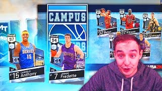 NBA 2K17 My Team NEW CAMPUS LEGENDS PACKS COMING! DIAMOND MELO & JIMMER! WOW
