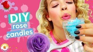 DIY Valentine's Day Rose Candle | GoldieBlox