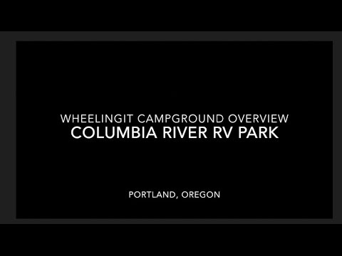 Columbia River RV Park Overview