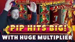 BIG WIN Da Vincis Treasure with RETRIGGER - HUGE WIN on Casino Games