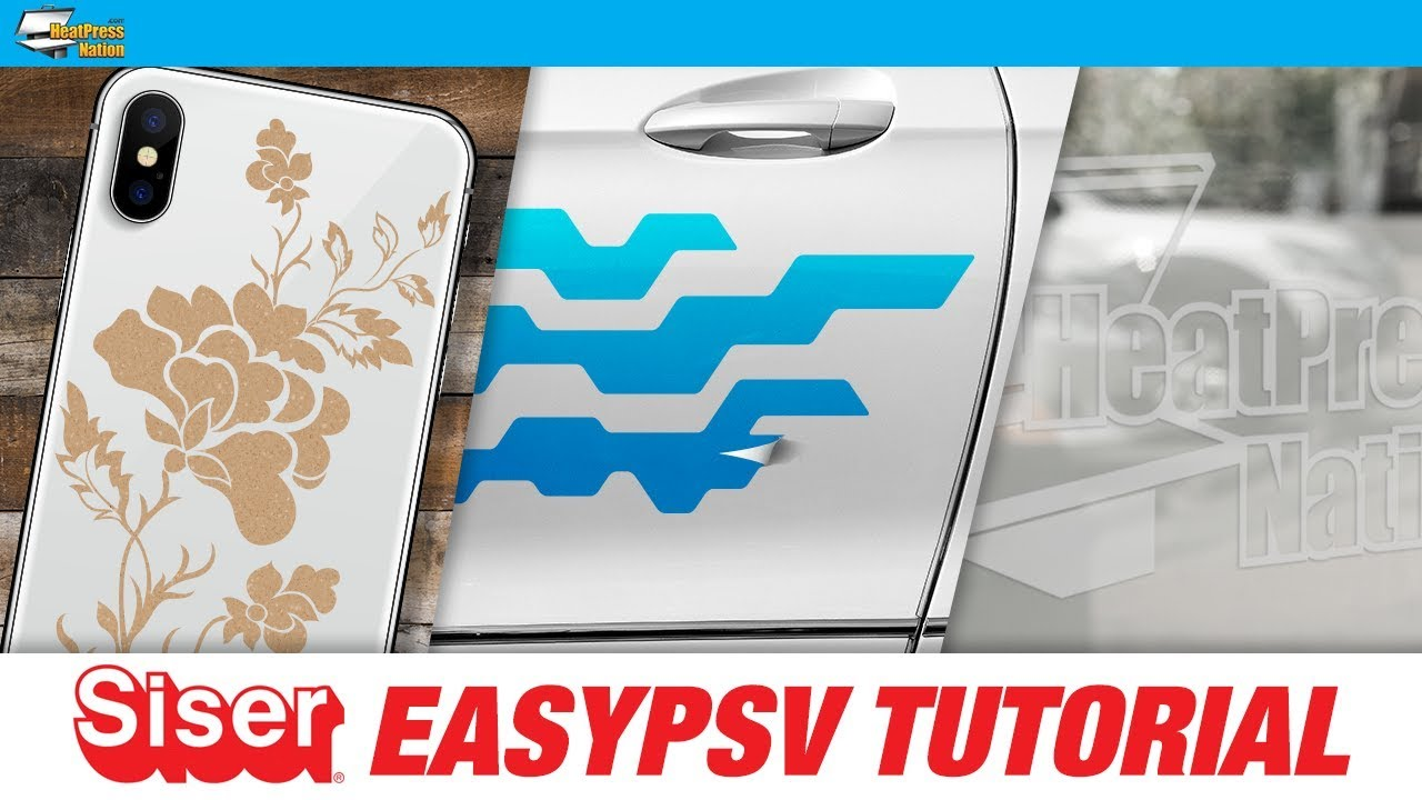 How to Use Siser EasyPSV Adhesive Sticker Vinyl