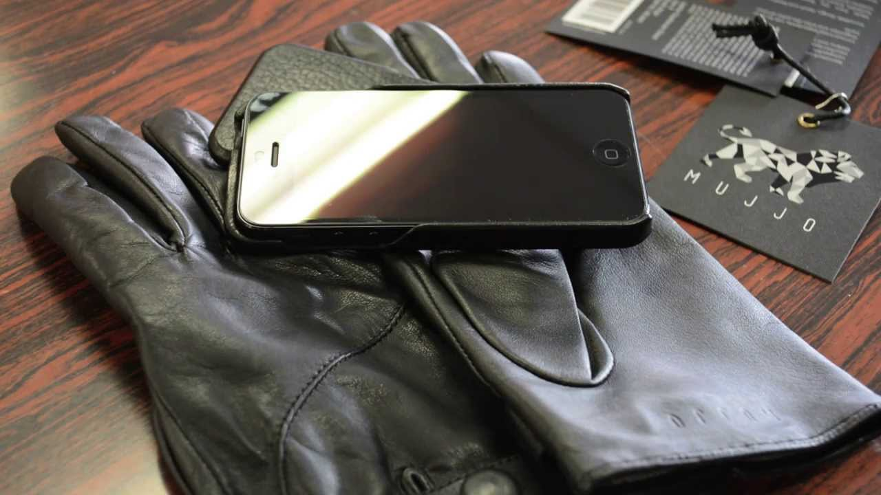 Leather gloves that work with iphone - Mujjo Leather Touchscreen Gloves For Iphone 5 Ipad Mini Samsung Glaaxy Etc Review