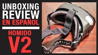 Homido V2 - Unboxing y Review en Español