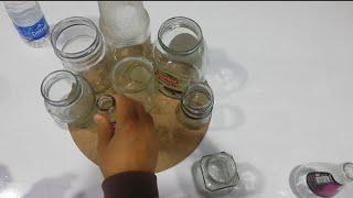 KAVANOZLARDAN SÜPER GERİ DÖNÜŞÜM  reciclaje переработка отходов 재활용
