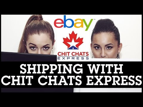 Selling On EBay Canada: Shipping With Chit Chats Express
