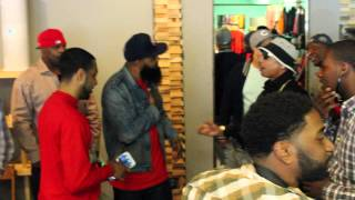 Stalley Meet & Greet at Posture Apparel with Mstacks