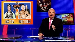 "SummerSlam Retro Report with ""Mean"" Gene Okerlund"