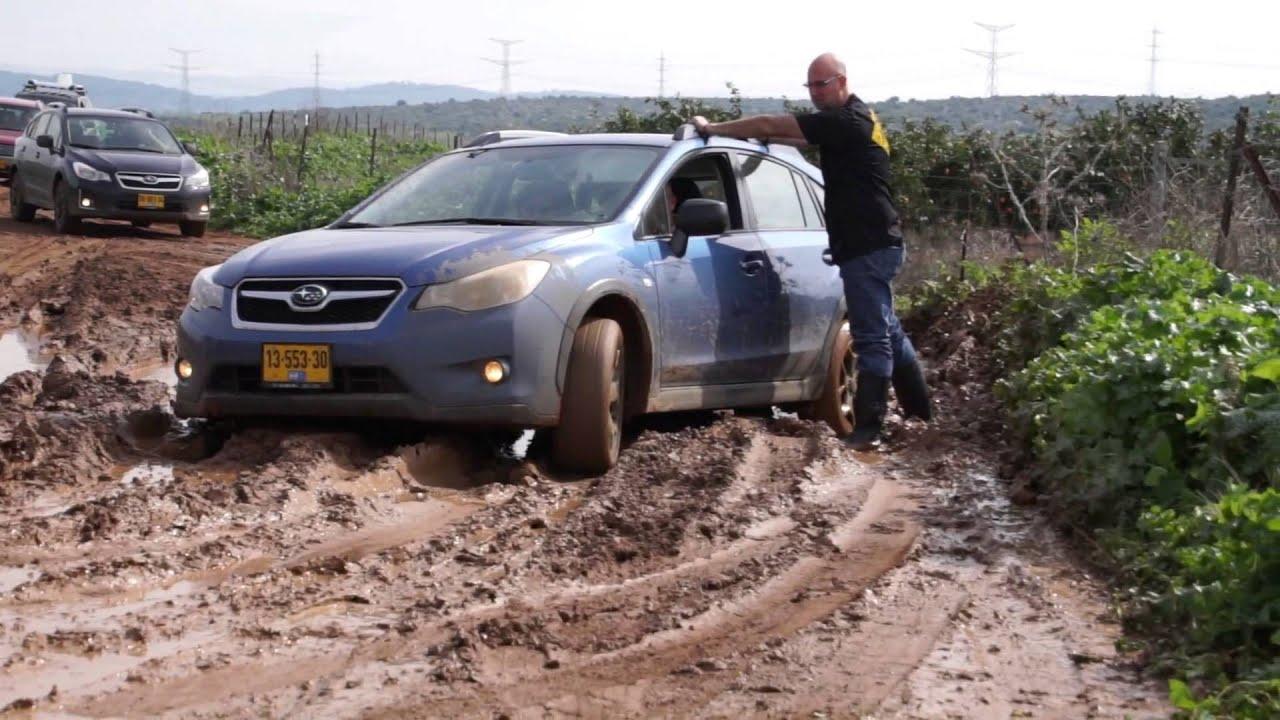 Subaru forester and xv crosstrek in the mud youtube for Cross country motor club subaru
