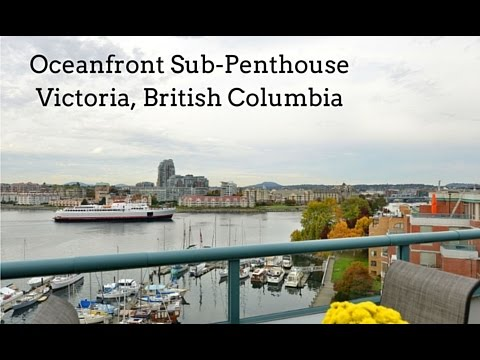 Gorgeous Oceanfront Sub-Penthouse in Victoria BC