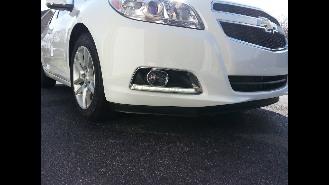 maxresdefault 2013 malibu fog light led kit installation youtube 2014 chevy cruze fog light wiring diagram at n-0.co