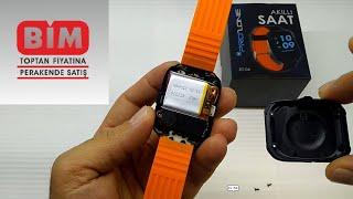Bim Akıllı Smart saat uygulama yükleme ve sim kart yuvası