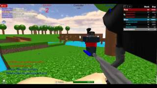 My time at Paintball XD frist vid ever (roblox game)