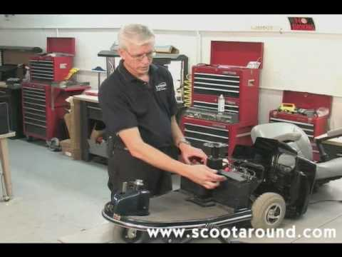 How to Disassemble a Rascal Scooter for Transport - YouTube