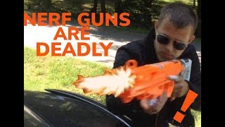 NERF GUNS ARE DEADLY- THE KING OF BWA!!