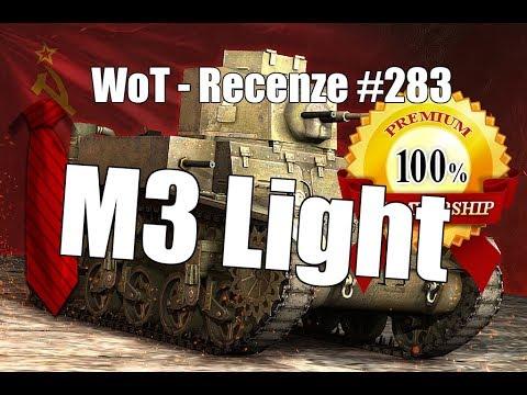 World Of Tanks M3 Light Recenze 283 Youtube