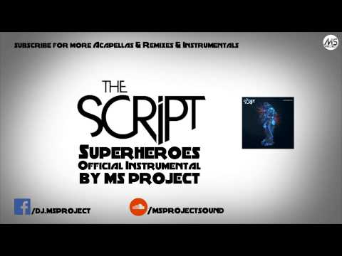 The Script - Superheroes (Official Instrumental) + DL