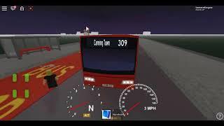 Roblox London Hackney & Limehouse bus Simulator ELC Esteem Dart CTP Route 309 ye :)