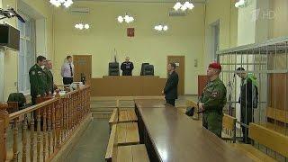 Солдаты, подозреваемые в убийстве медсестер военного госпиталя в Петербурге, арестованы на 2 месяца.