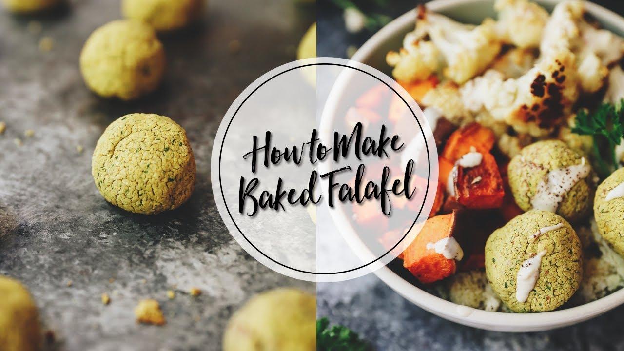HOW TO MAKE BAKED FALAFEL | an easy baked falafel recipe ...