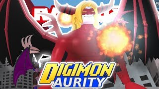Digimon Aurity - VENOMMYOTISMON RAID BOSS *NEW RAID BOSS EVENT* (Roblox Gameplay)