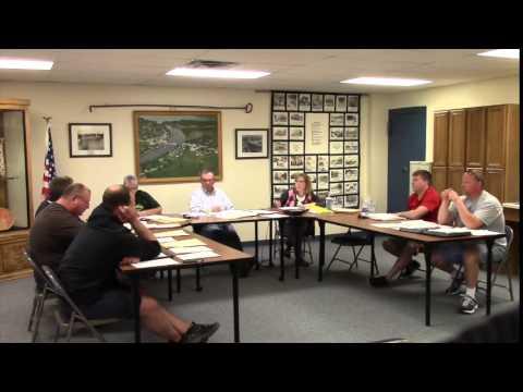 Village of Fremont Board Meeting 04-14-15