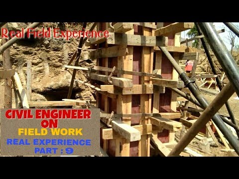 CIVIL ENGINEER SITE, FIELD, EXPERIENCE. Part 9.