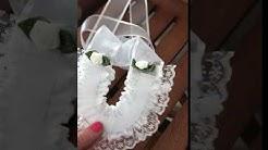 bridal horseshoe front and back