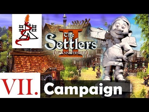 The Settlers 2 (10th Anniversary Edition) - Mission 7 | SPQR | Campaign [1080p/HD]