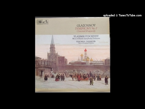 Alexander Glazunov : Oriental Rhapsody for orchestra Op. 29 (1889)