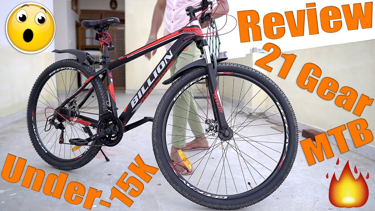 Geekay Billion 21 Speed Gear Mountain Bicycle Review   Best mtb under 15000 India