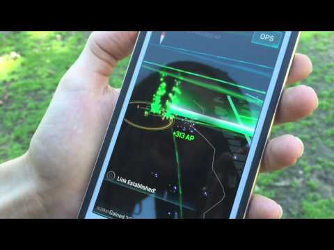 What is Ingress? Google's mobile augmented reality GPS game.
