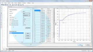 Moment Curvature Analysis Example With Se::mc