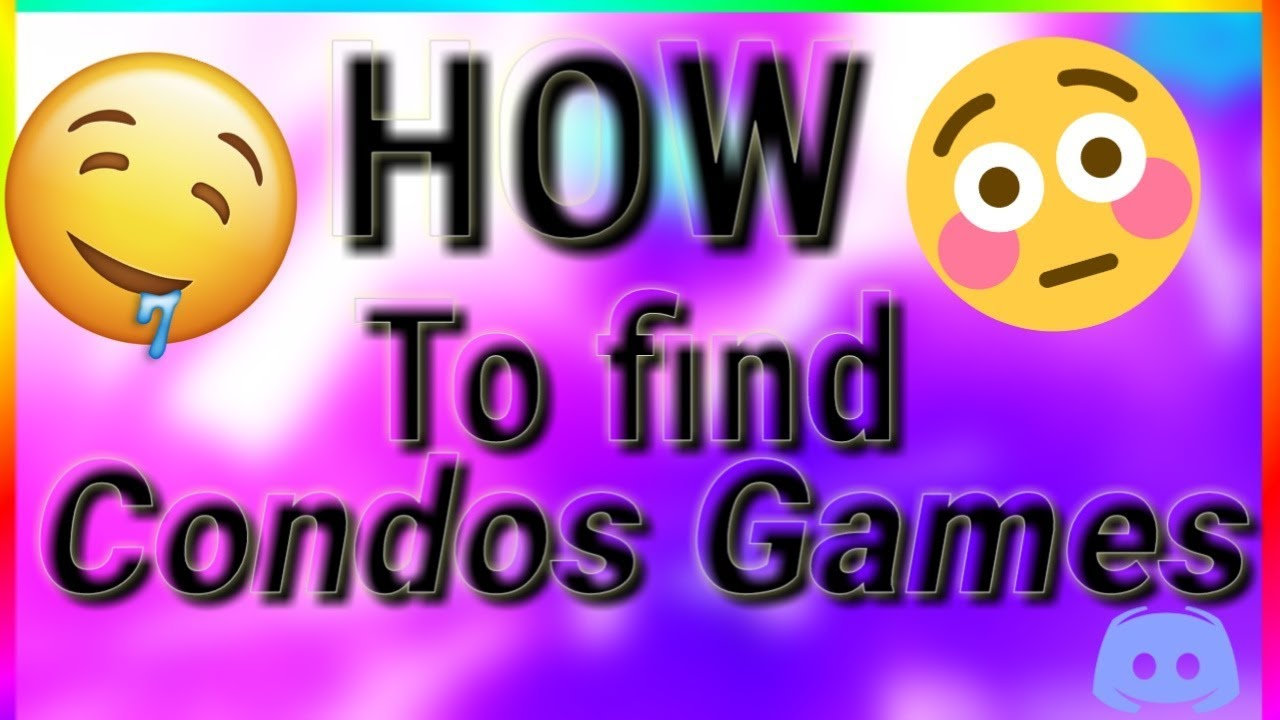 Roblox How To Find Condo Games Working 2020 Check Desc Youtube