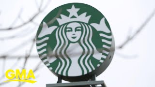 Starbucks CEO Kevin Johnson shares how the company is handling the new normal l GMA