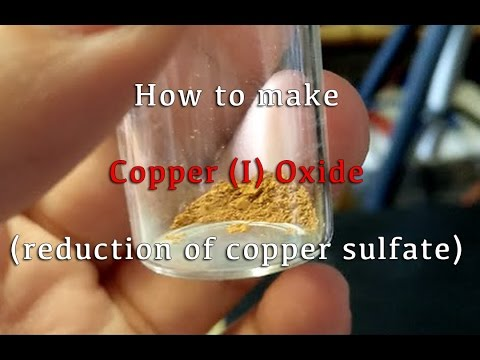 how to create copper oxide