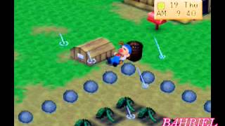 Harvest Moon Back To Nature Indonesia Trick Uang Nocheat Part6