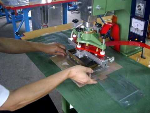 High Frequency Welding Machine Pvc Bags Making Machine